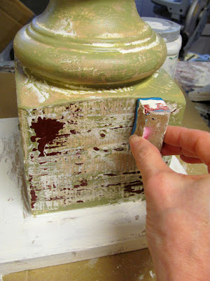 block painting technique