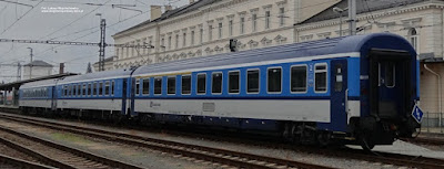 Wagony, České dráhy