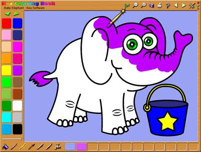 Sofware Komputer Untuk Anak Anak Mewarnai Menggambar Jadi Lebih