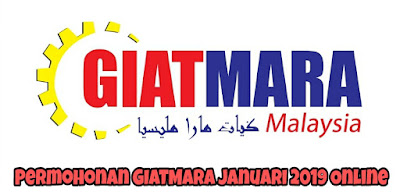 Permohonan GIATMARA Januari 2019 Online
