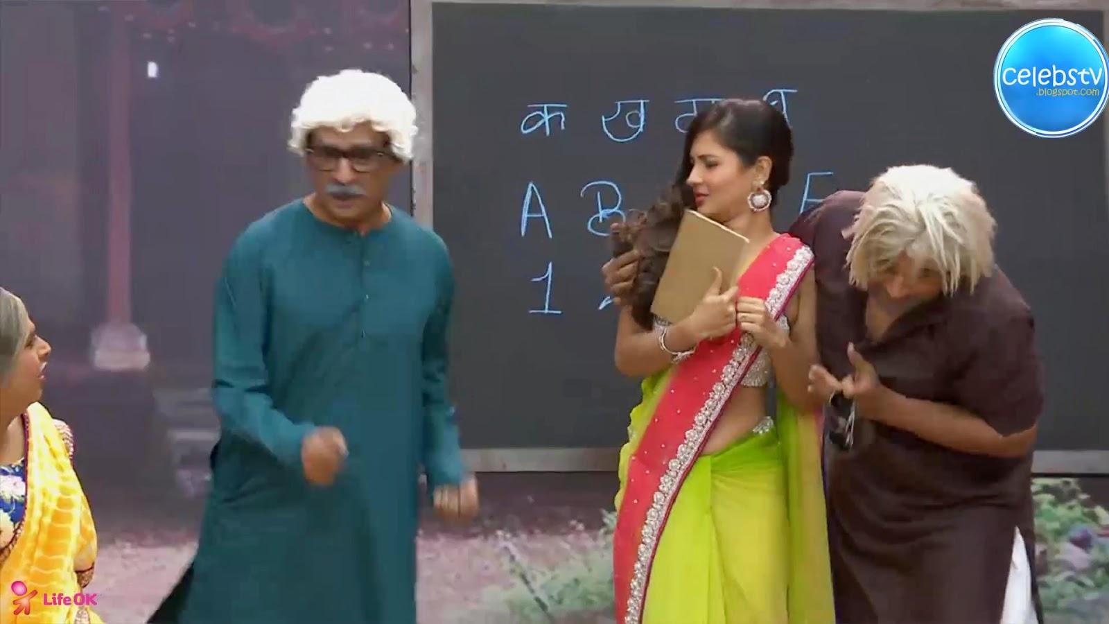 Pooja Bose Very Hot Sexy Bouncing Boobs, Navel Show -9254
