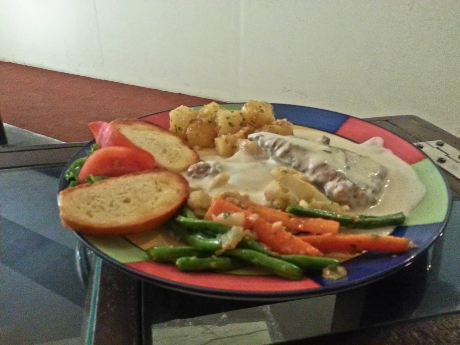 Grilled Fish in Lemon Butter Sauce at Quesa Lounge, Noida