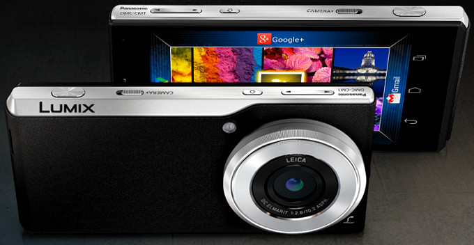 Panasonic DMC-CM1 announced with flagship camera