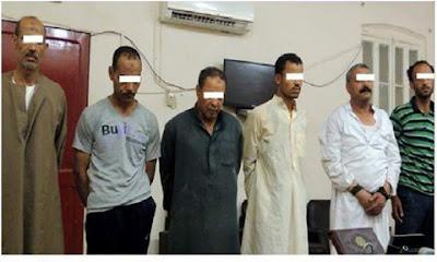 القبض على المتهمين بجريمة قتل ثرى بقرية نزلة البرقى بمركز الفشن ببنى سويف