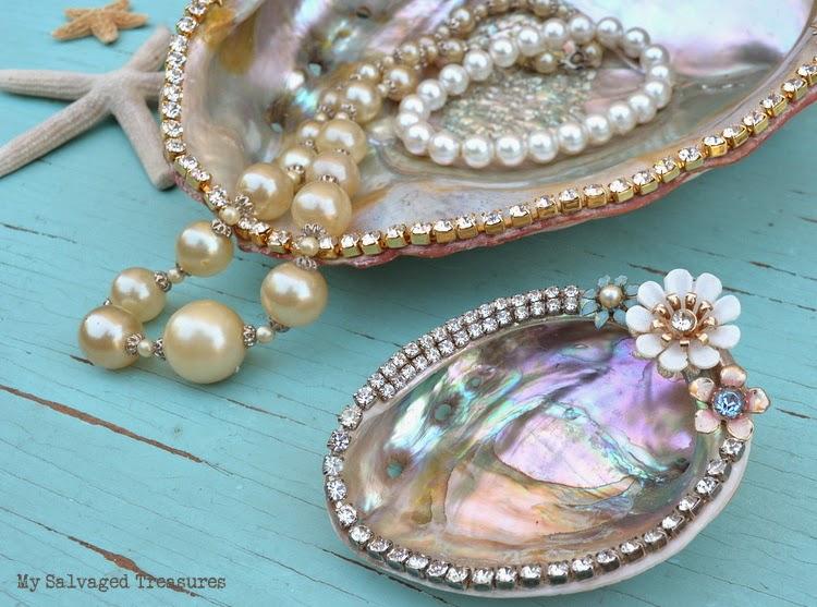 Jeweled Abalone Shells