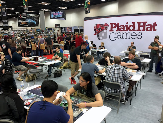 Ashes: Rise Of The Phoenixborn tournament at GenCon 2015