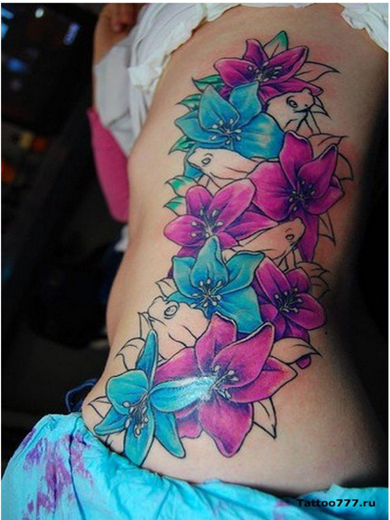 Flower Tattoo Designs For Women Unique: Popular Tattoo Designs