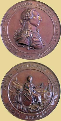 Medalla Primer Centenario del a Academia de Minería