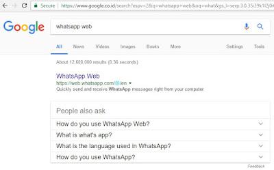 Cara Setting Aplikasi Whatsapp Untuk PC
