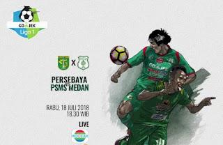 Jadwal Liga 1 Rabu 18 Juli 2018 - Siaran Langsung Indosiar
