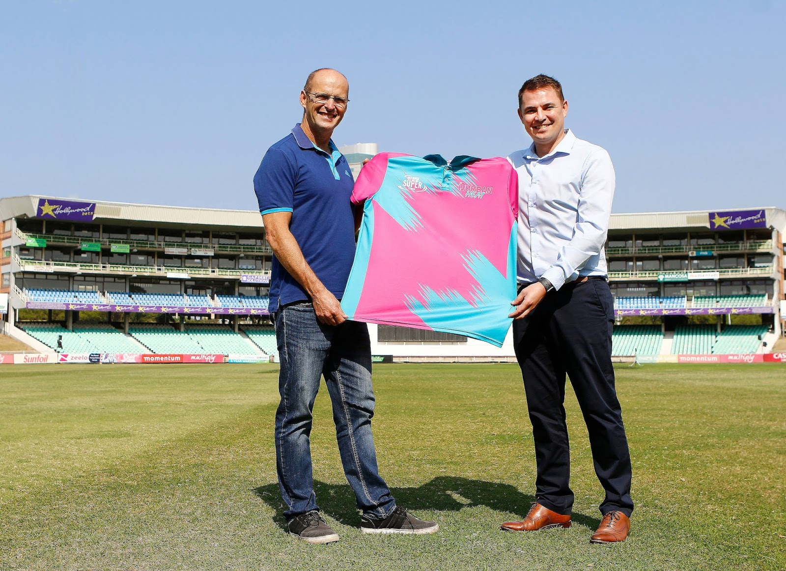 Gary Kirsten and Heinrich Strydom - Durban Heat - Kingsmead