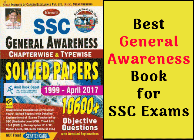 Ssc General Awareness Book Pdf