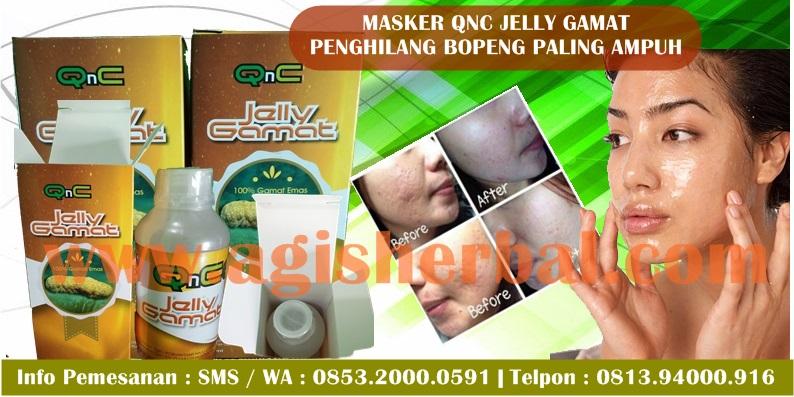 Masker QNC JELLY GAMAT Penghilang Bopeng