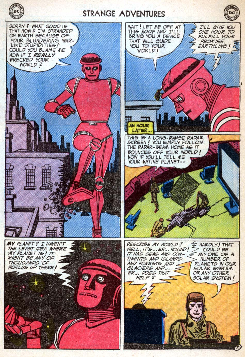 Strange Adventures (1950) issue 50 - Page 9