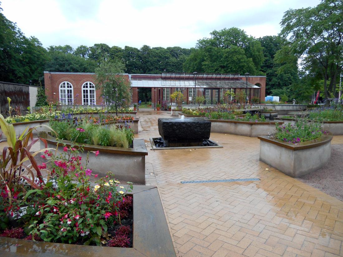 Hälsoträdgården i Kristianstad