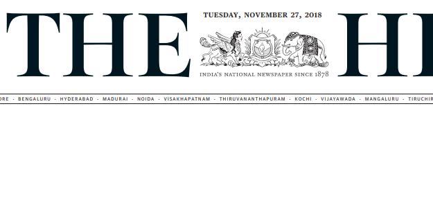 The Hindu ePaper Download 27th November 2018