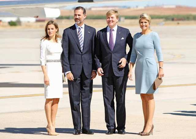 King Willem- Alexander and Queen Maxima visit Spain