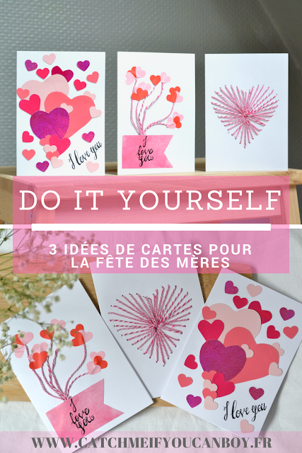 DIY fête des mères mother day