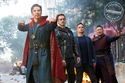 Avengers Infinity War Stephen Strange Tony Stark Bruce Banner Wong