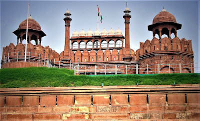 Benteng Agra (Lal Qila) india