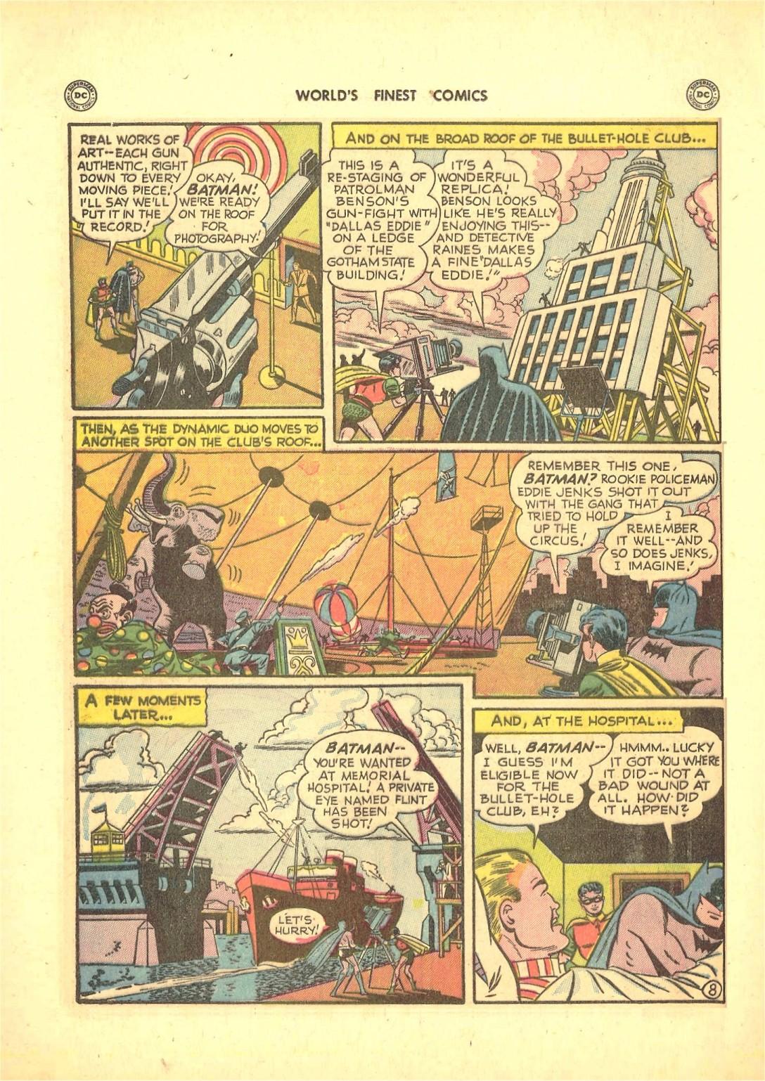 Read online World's Finest Comics comic -  Issue #50 - 70