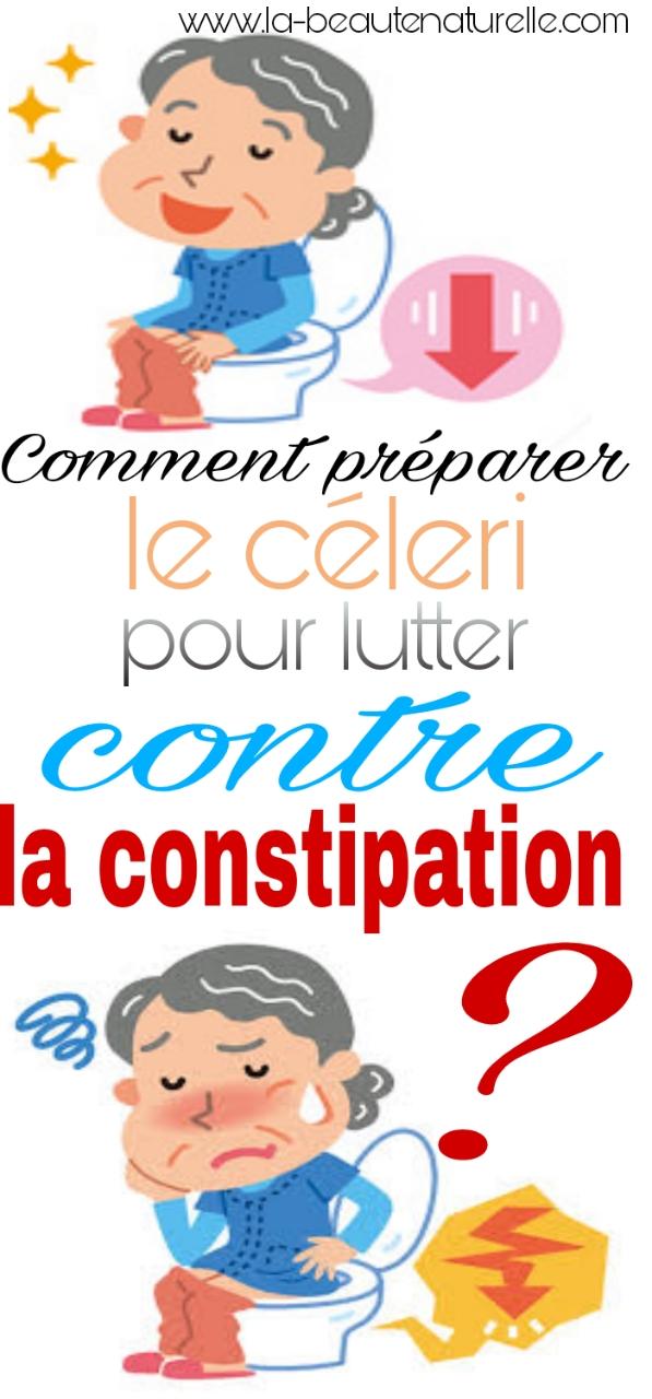 Comment préparer le céleri pour lutter contre la constipation ?