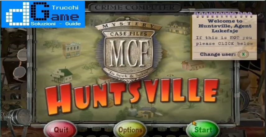 Soluzioni Mystery Case Files Huntsville di tutti i livelli | Walkthrough guide