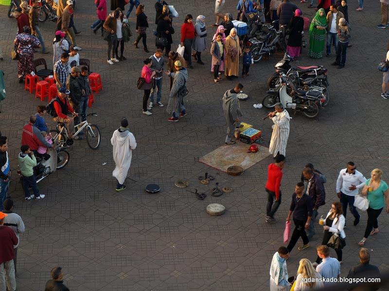 Marrakesz - Jemaa el-Fna
