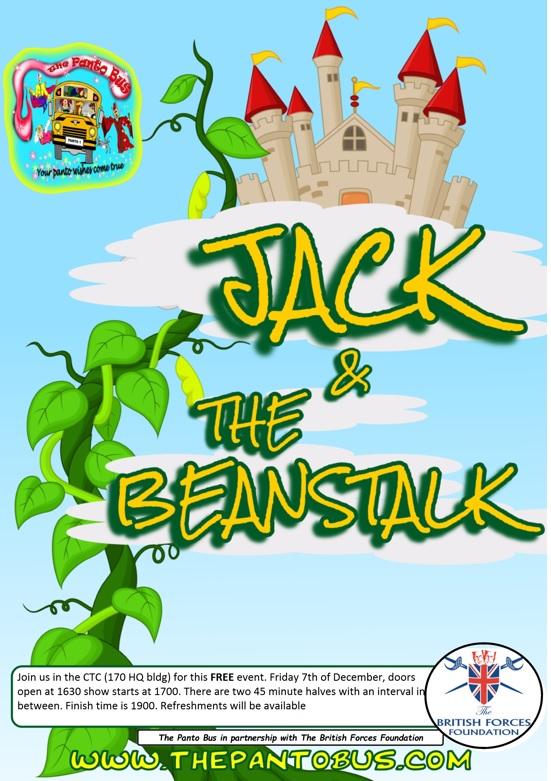 GRANTHAM HIVE Jack The Beanstalk FREE Event