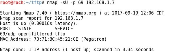 Whitelist: File transfers post-exploitation with TFTP
