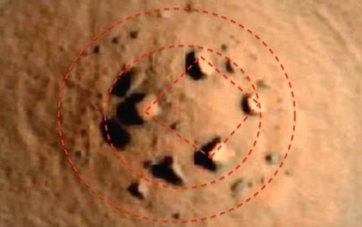 El Stonehenge de Marte, ¿Una Construcción Megalítica en el Planeta Rojo?