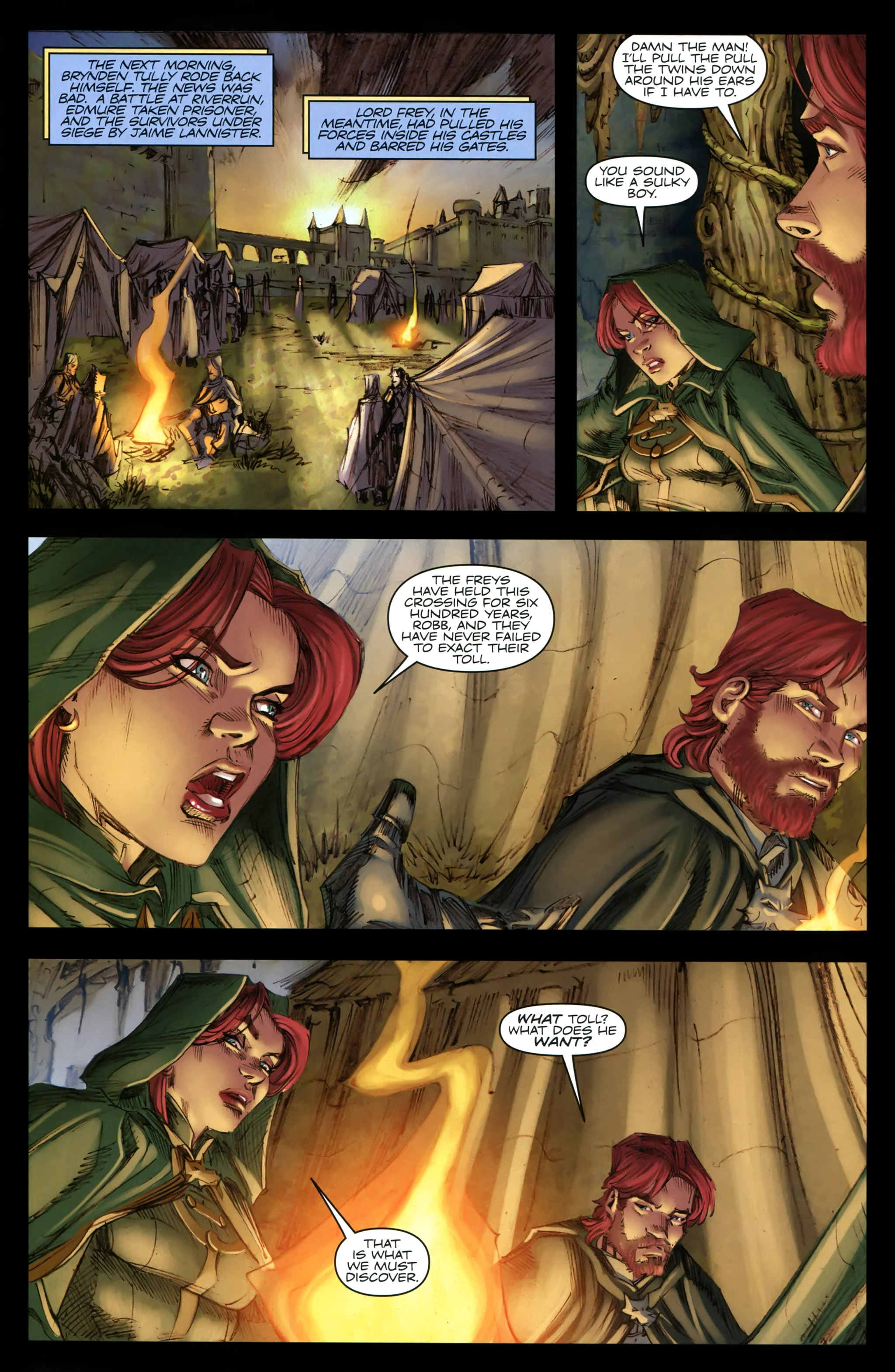 Read online A Game Of Thrones comic -  Issue #19 - 19