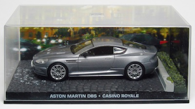 Autos a escala colección James Bond Aston Martin DBS