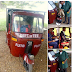 Nigerian Student, Ekomobong Finbarr Designs Solar Powered Tricycle For His School Project. (Photos)