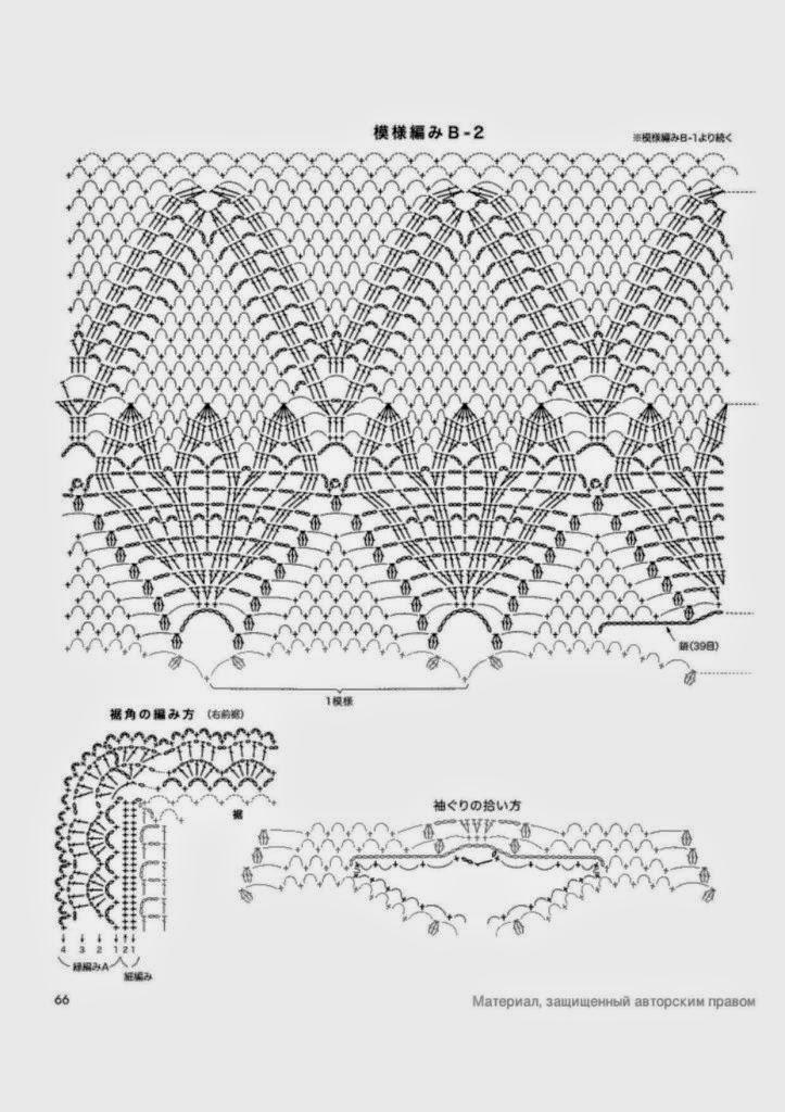 Chaleco vintage para tejer al crochet / patrones | Crochet y Dos ...