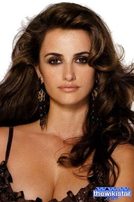 Penelope Cruz, Spanish actress, born April 28, 1974.