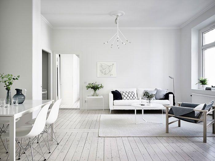 """como decorar piso para alquilar estilo minimalista salón """"menos es más"""""""