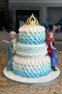 kue ulang tahun karakter frozen