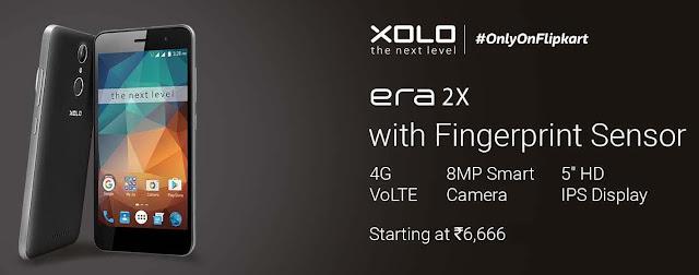 XOLO Era 2X | 4G VoLTE | 16GB ROM + 2GB RAM / 3GB RAM