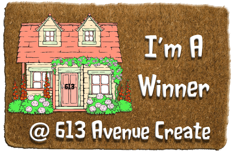 Winner at 613 Avenue Create Challenge Blog