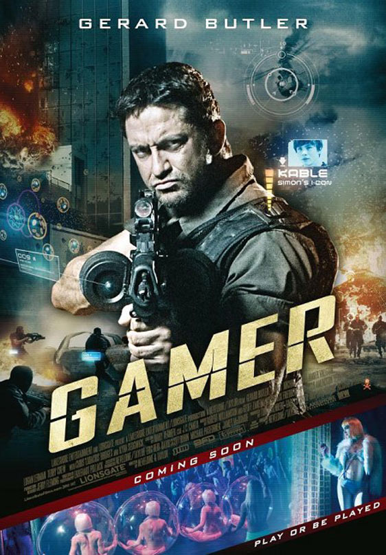 Gamer 2009 Hindi Dual Audio 500MB BluRay 720p HEVC x265 ESubs