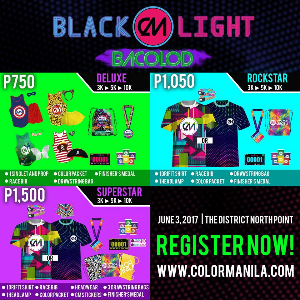 CM Blacklight Run Bacolod