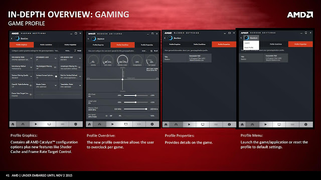 Overview amd driver crimson