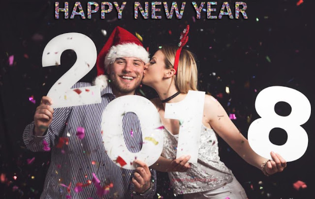 New year 2018 wishes for Gf
