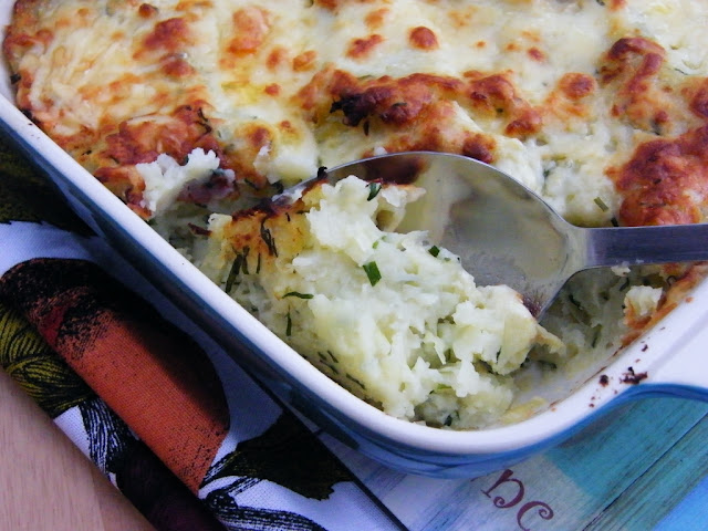 Rumbledethumps or Scottish Potato & Cabbage Pie