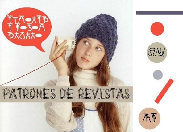 Revista Rusa de Apliques en Crochet
