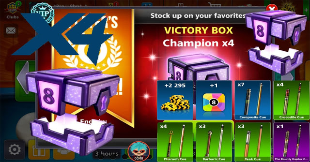 Victory Box Champion X8 8 ball pool
