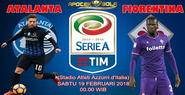 Prediksi Atalanta vs Fiorentina 19 Februari 2018