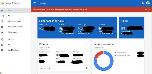 Cara Request PIN Google AdSense