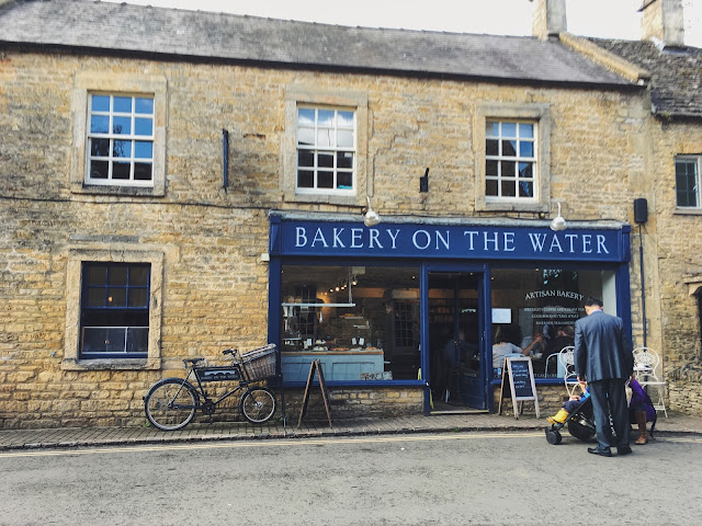 Bakery on the Water - Bourton-on-the-Water, Cotswolds in Gloucestershire, England